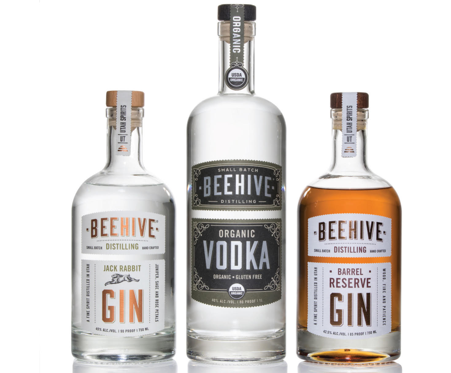 Beehive Distilling Unveils New Organic Vodka – Panic Button